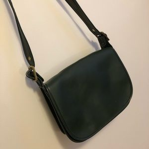 Vintage Classic Coach Forest Green Crossbody